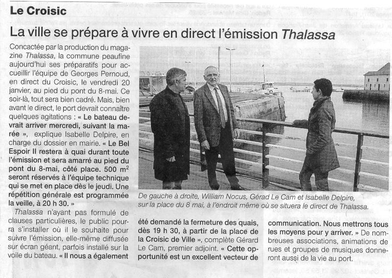 [Activité hors Marine des ports] LE CROISIC Port, Traict, Côte Sauvage... - Page 3 Thalas10