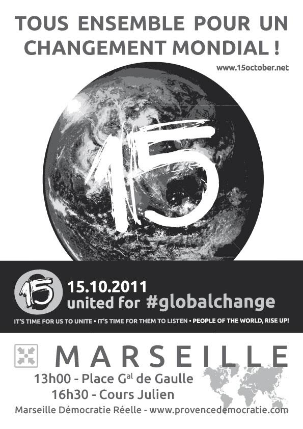 Affiche du 15O à Marseille Affich11