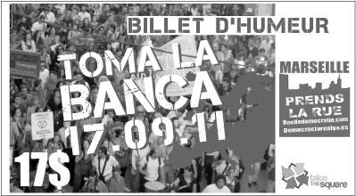 Samedi 17 Septembre - Journée mondiale contre la dictature des marchés financiers + compte rendu Billet10