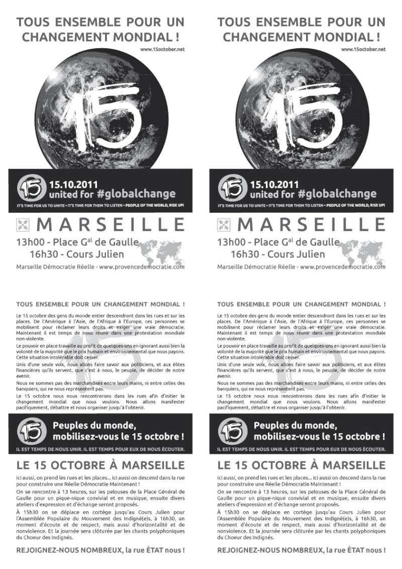 Affiche du 15O à Marseille Tract110