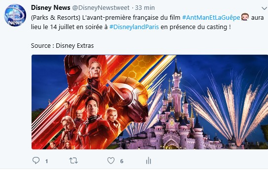 """Avant-Premiére """"Ant-Man et la Guêpe"""" en présence du casting !  Sans_t10"""