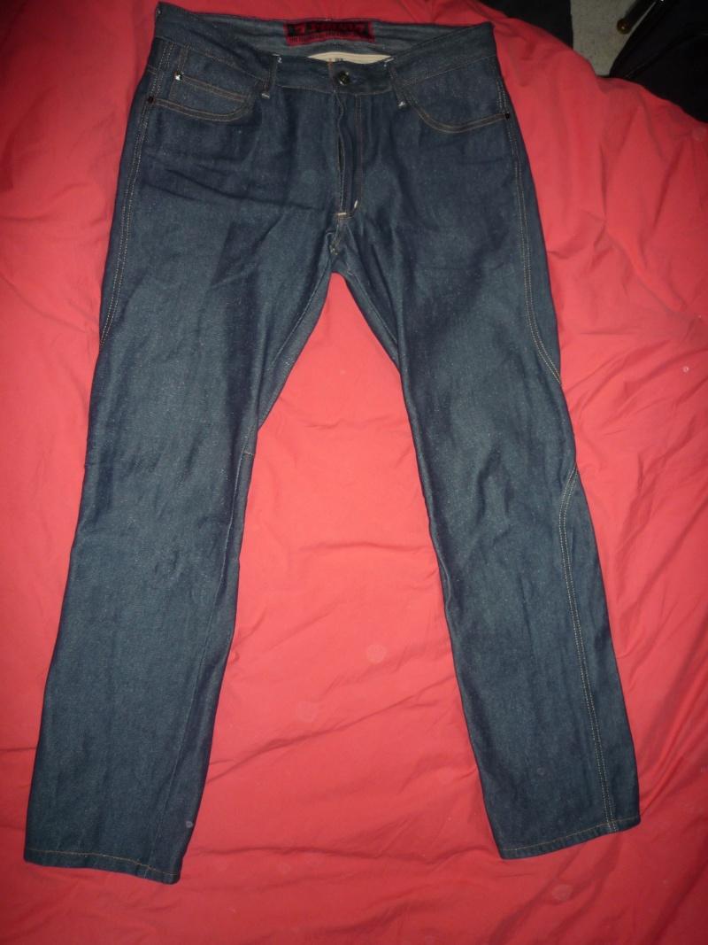 A vendre : Pantalon moto ESQUAD STEIN bleu (taille 36 US) P1010510