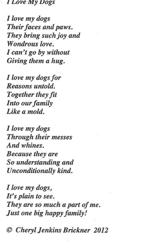 I Love My Dogs I_love12