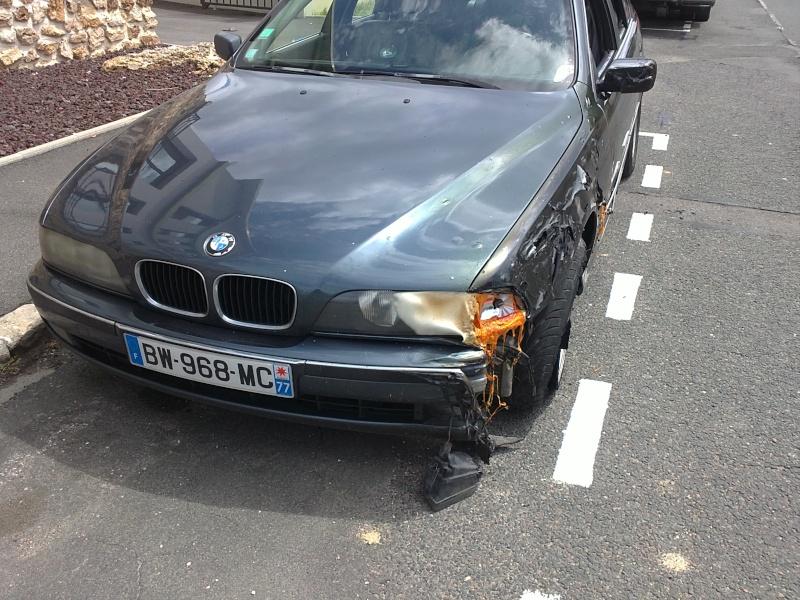 [BMW E39] Fondue par un incendie 15062010