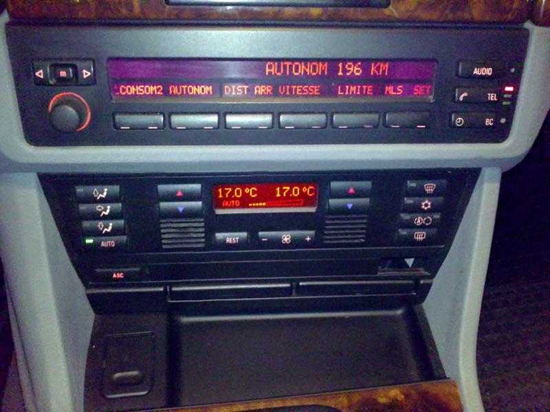 [BMW E39] Autoradio et ordinateur de bord 16102010
