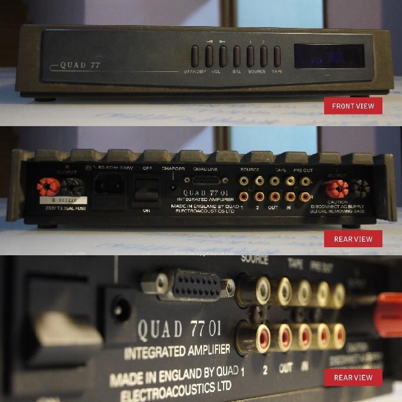 Quad 77 Integrated (Used) - SOLD Quad7711