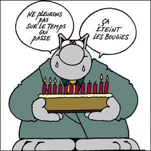 Bon anniversaire, Mélancoliza Joyeux10