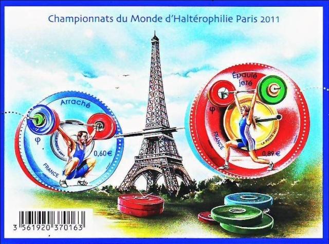 CHAMPIONNATS DU MONDE D'HALTEROPHILIE 2011 - PARIS Halt110
