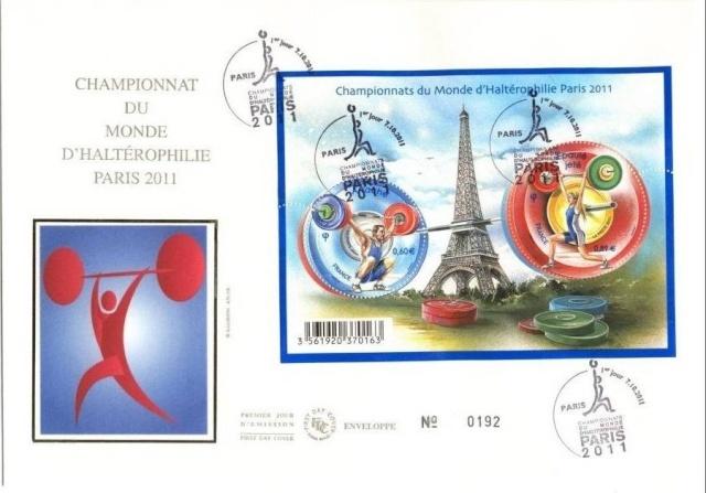 CHAMPIONNATS DU MONDE D'HALTEROPHILIE 2011 - PARIS Halt210