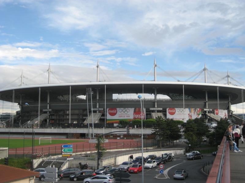 Le stade de France se met aux Couleurs des Jeux Olympiques 2012 Paris_10