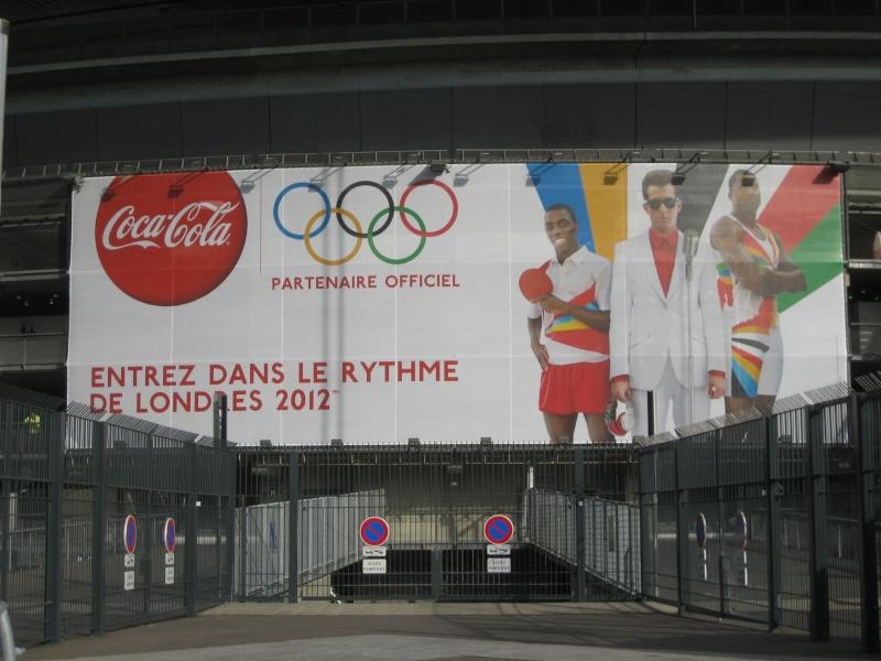 Le stade de France se met aux Couleurs des Jeux Olympiques 2012 Paris_14