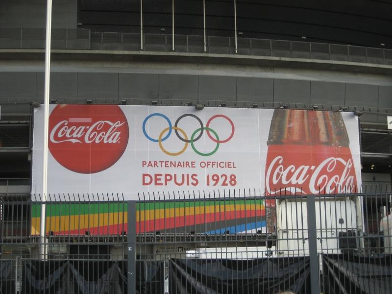 Le stade de France se met aux Couleurs des Jeux Olympiques 2012 Paris_15