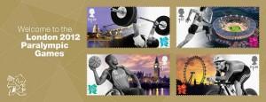 Timbres Officiels (Royaume-Uni) Jeux Paralympiques de Londres 2012 - Emission de 4 timbres pour l'ouverture des Jeux Paralympiques Welcom11
