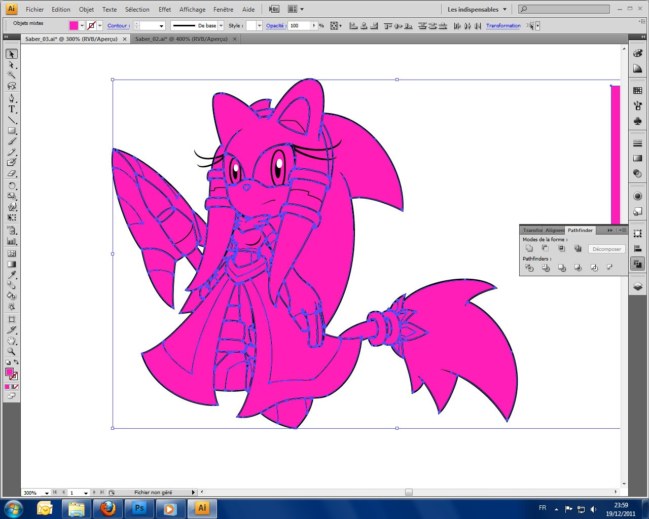 [Tutoriel] Dessiner sous Illustator Colour12