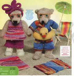 Un même modèle proposé au crochet ET au tricot 2012-066