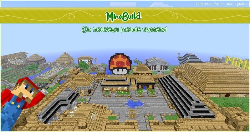 MineBuild : Un nouveau monde t'attend