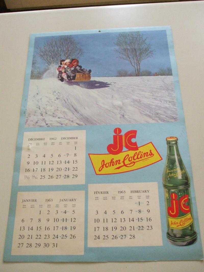 Calendrier John collins 1963 Dscf1911