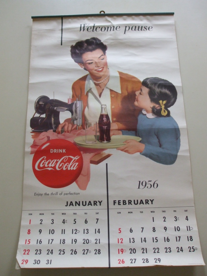 Calendrier Coke 1956 Dscf1915