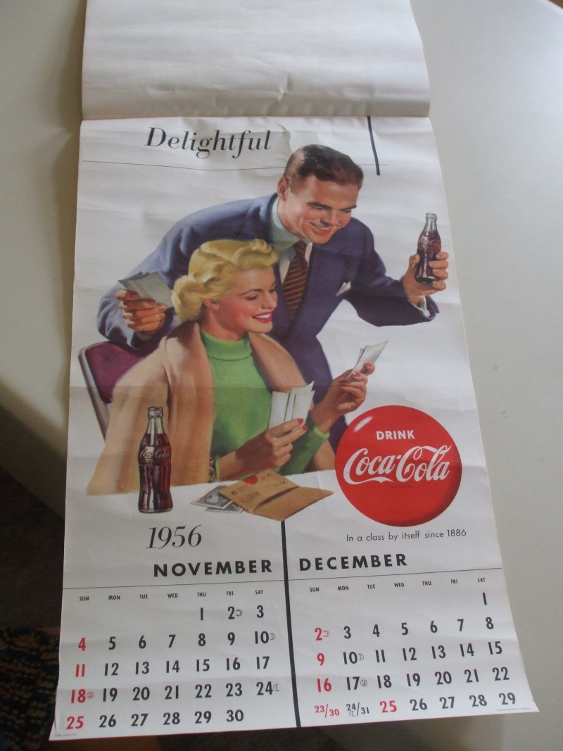 Calendrier Coke 1956 Dscf1917
