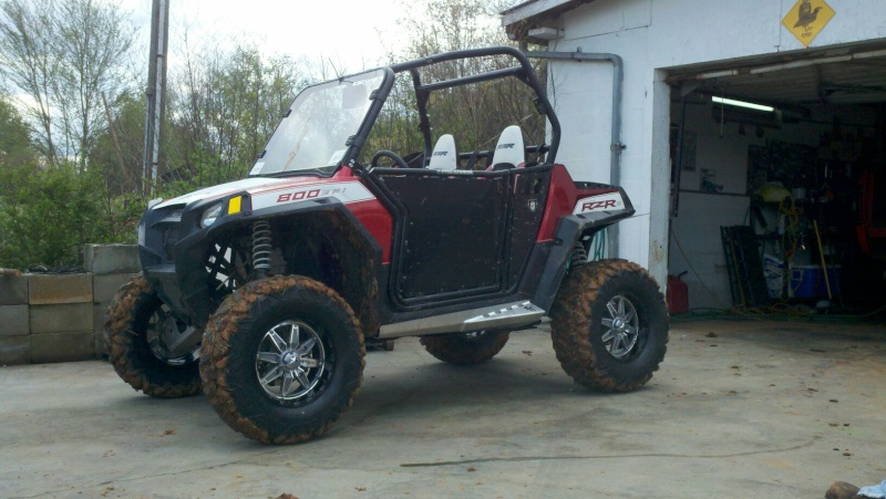 Added some goodies to my rzr today! Lift_a10
