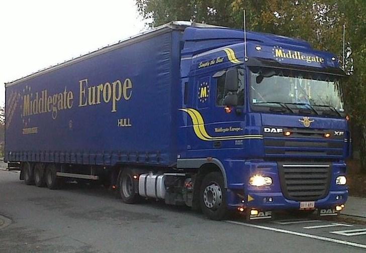 Middlegate Europe.(Zeebrugge) Daf_x328