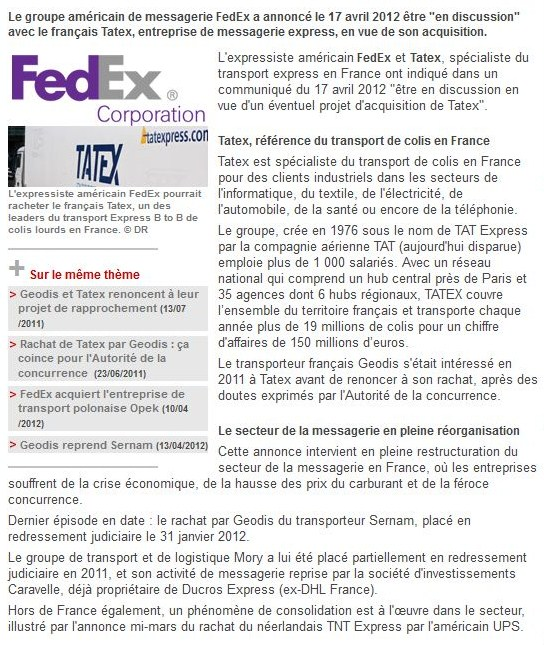 Tatex (Tours, 37) Fedex_10