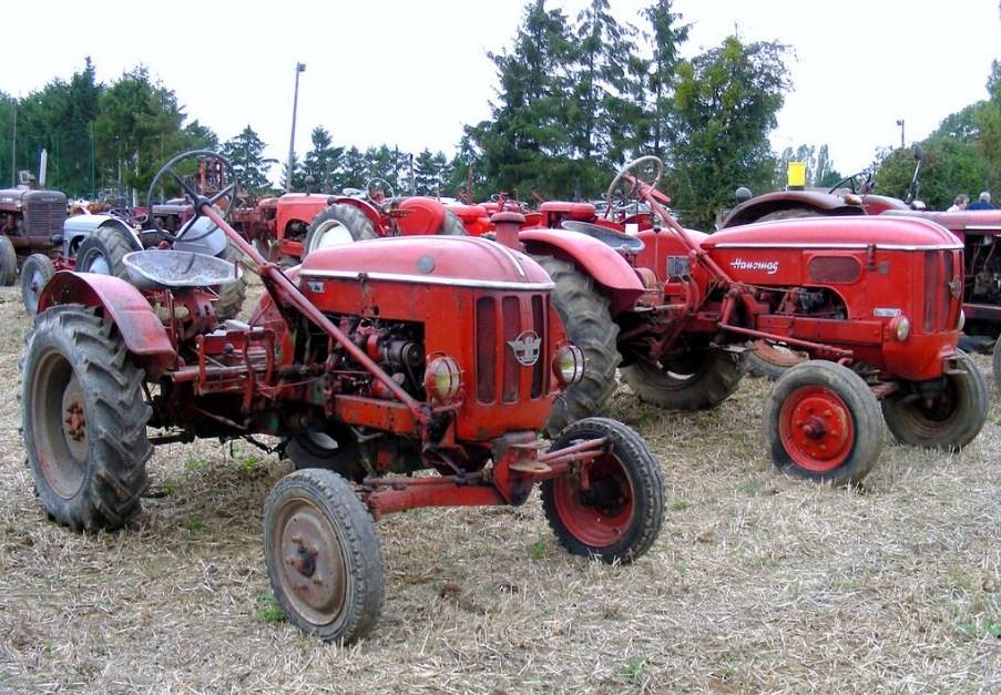 Tracteurs agricole d'autrefois. Hanoma10