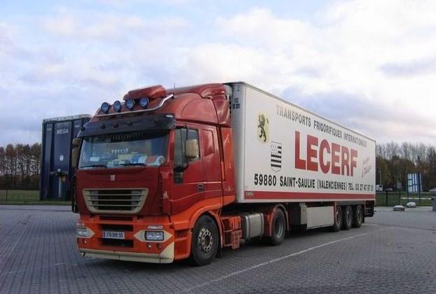 Transports Lecerf (Saint-Saulve 59) Iveco142