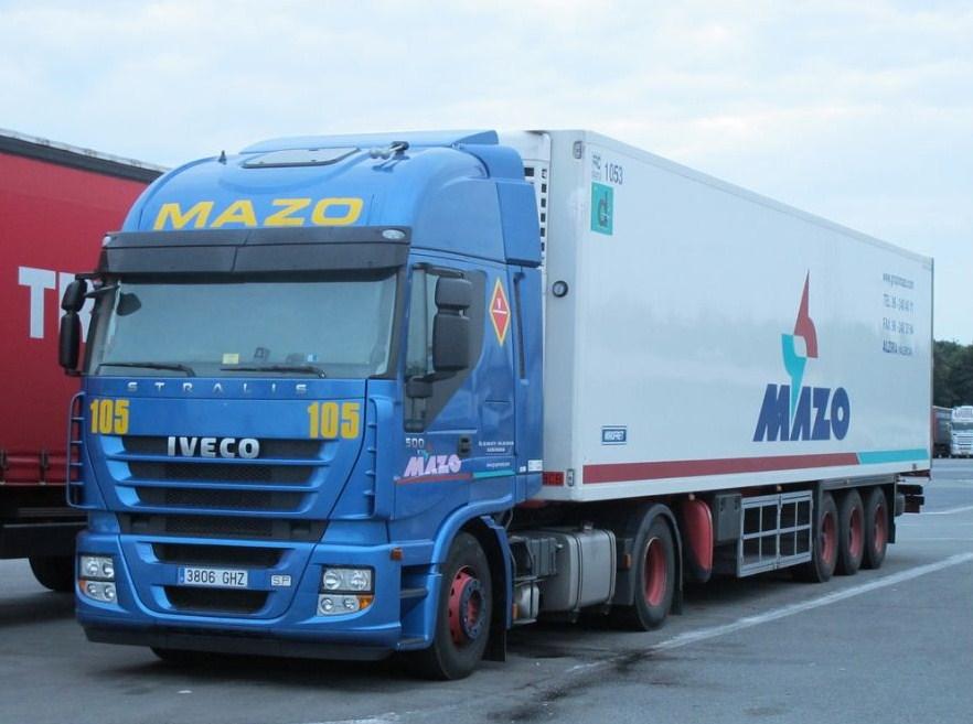 Mazo (Alzira - Valencia) Iveco239