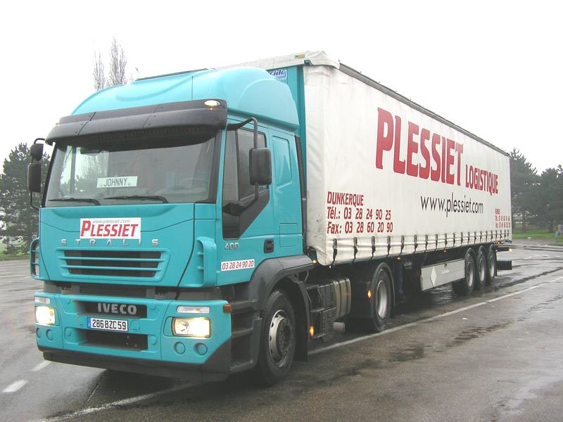 Plessiet  (Dunkerque 59) - groupe VLB Trans Iveco347