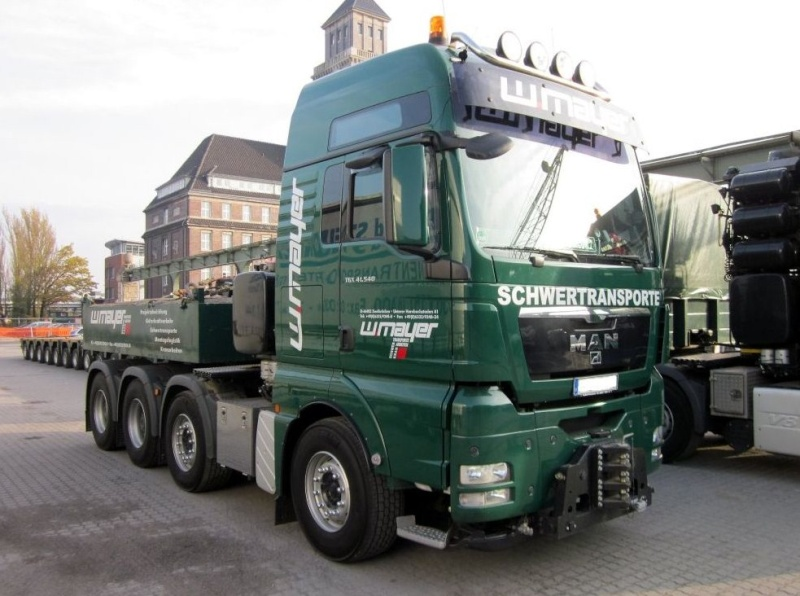 W. Mayer Schwertransporte Man_t125