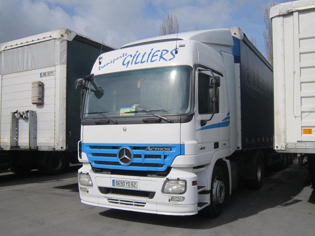 Transports Gilliers (Arques 62) Merce389