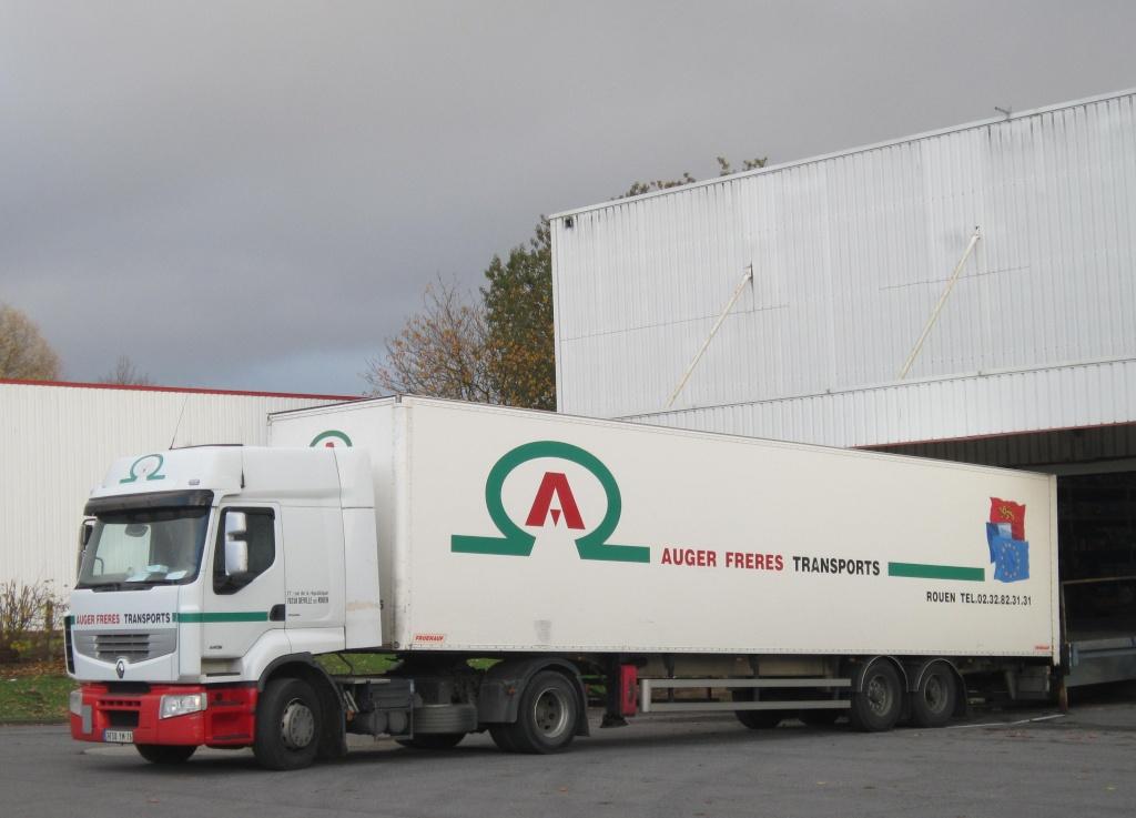 Auger Frères Transports (Déville les Rouen, 76) Renaul79