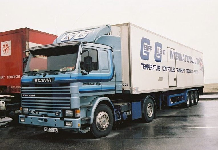 Geoff Gilbert International Ltd Scani107