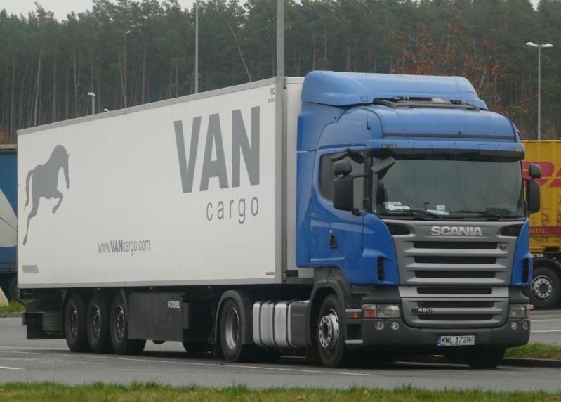 Van Cargo  (Warszawa) Scani269