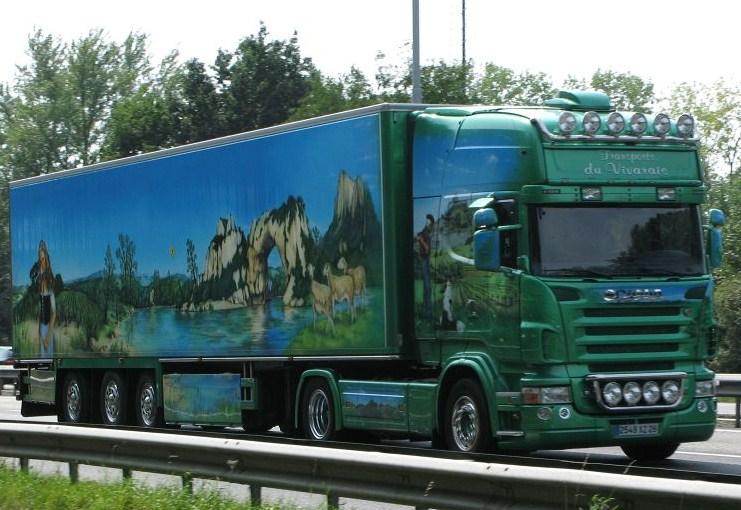 Transports du Vivarais (Pont de l'Isere, 26) Scani283