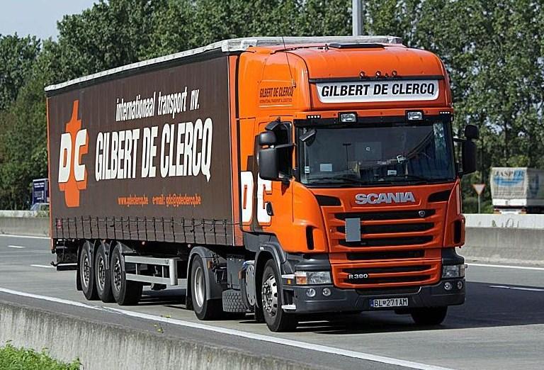 Gilbert De Clercq (Sint Niklaas) Scani363