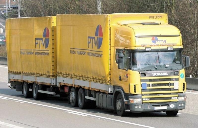 PTM (Polski Transport Miedzynarodowy)(Wyszkow) Scani468
