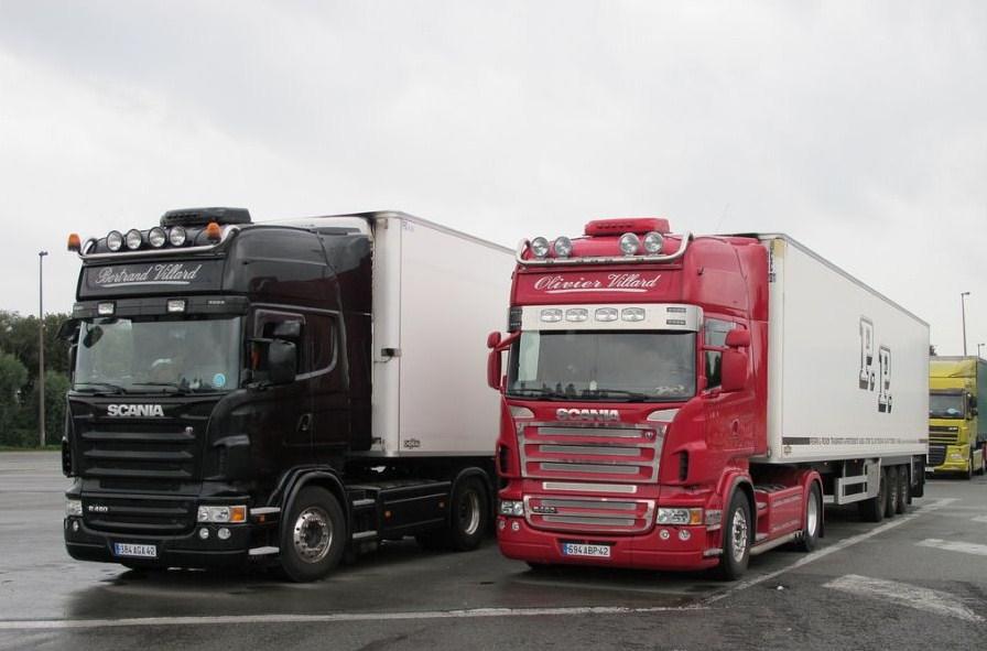 Transports Villard (Chalain Le Comtal 42)  Scani731