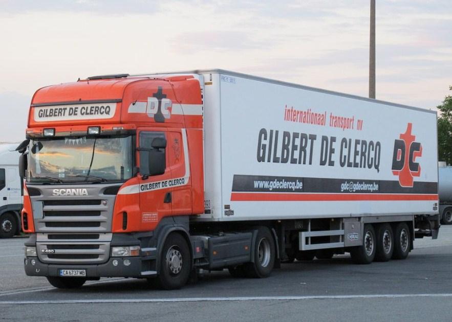 Gilbert De Clercq (Sint Niklaas) Scani735