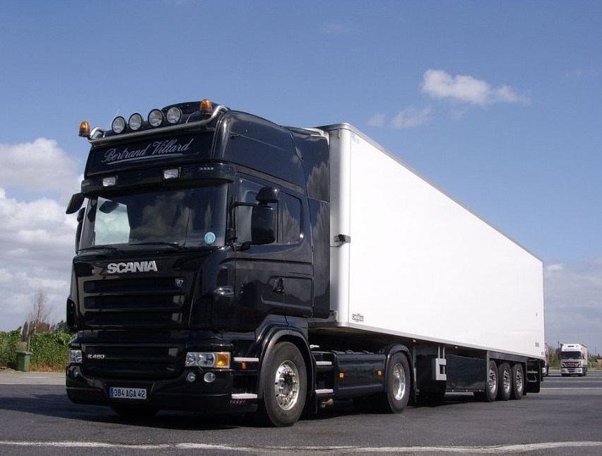 Transports Villard (Chalain Le Comtal 42)  Scani923