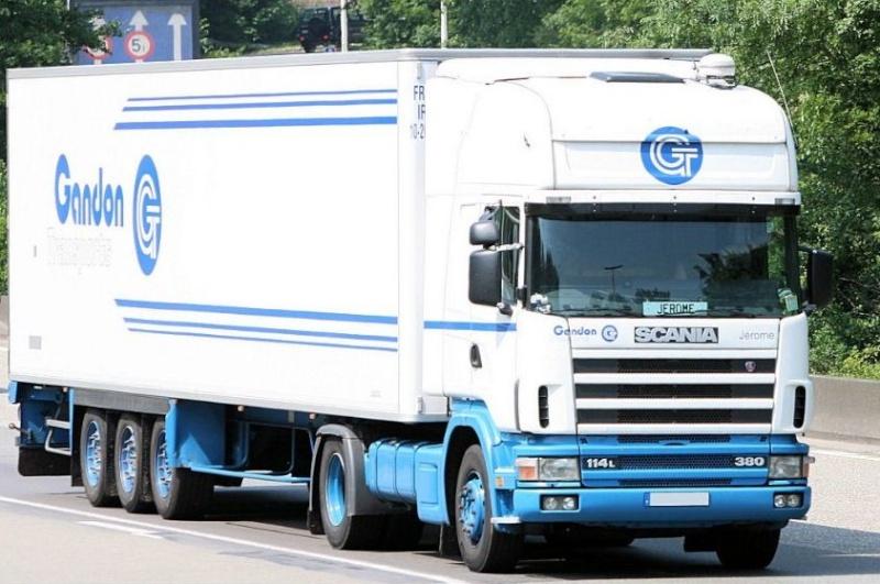 Gandon Transport  (Mayenne 53) Scania43