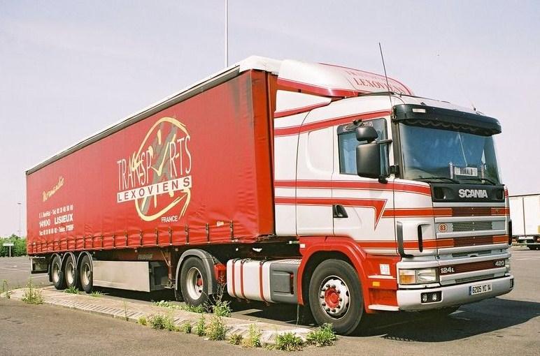 Lexoviens (Lisieux) (14) (transporteur disparus) Scania65
