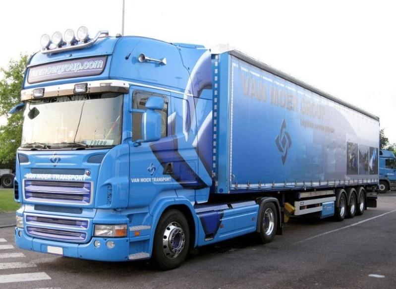 Van Moer Transport  (Zwijndrecht) Scania73