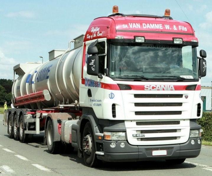 Van Damme W. & fils (Genappe) Scania77