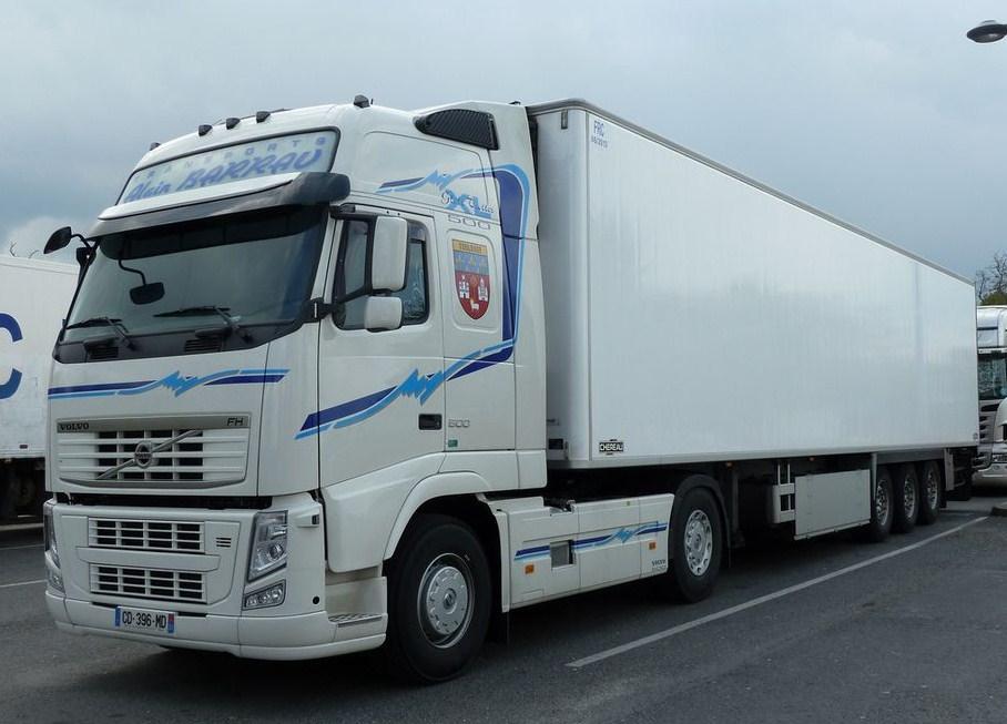 Transports Alain Barrau (Villematier 31) Volv1058