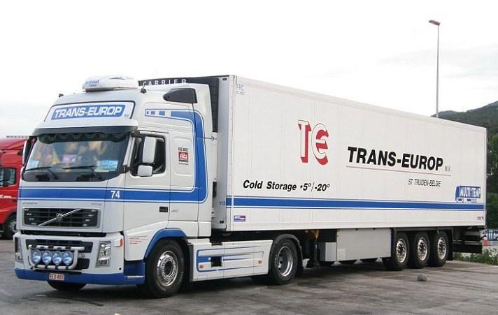 Trans Europ (Sint Truiden)(groupe Vanschoonbeek) Volvo103