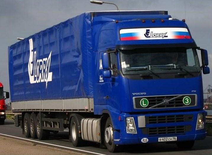 Lorry Volvo135