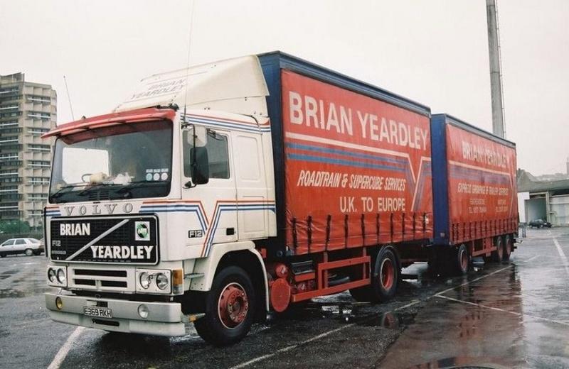 Brian Yeardley Volvo214