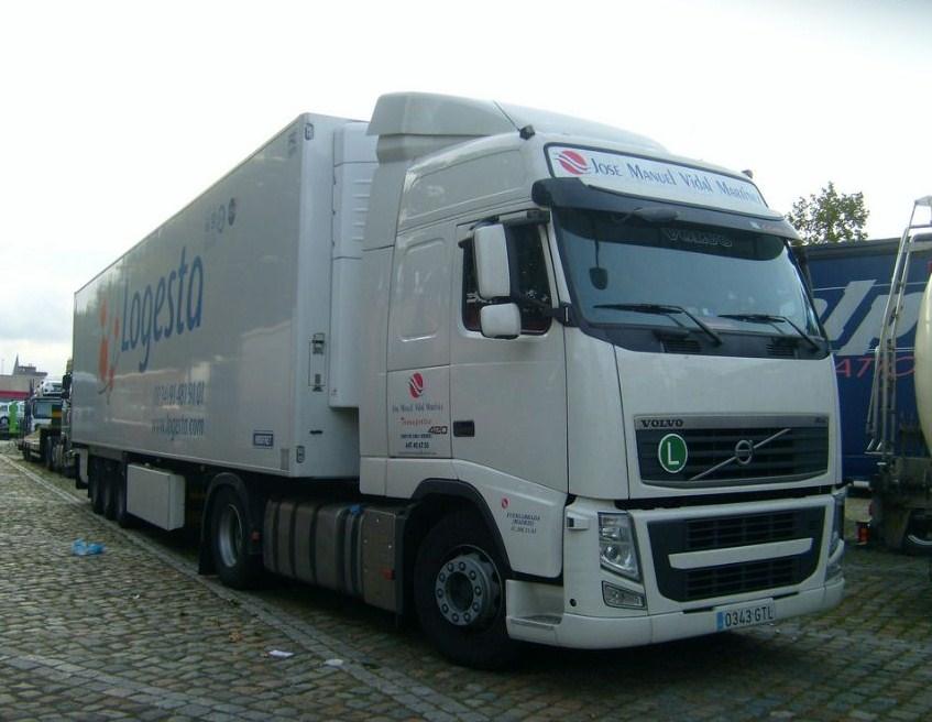 Transportes José Manuel Vidal Martinez (Xinzo de Lima) Volvo539